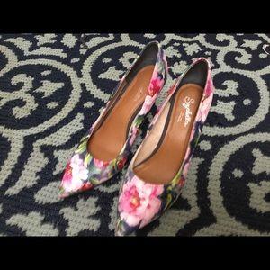 Seychelles Floral Heels
